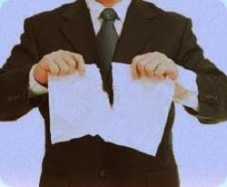 Одностороннее расторжение договора поставки